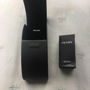 Prada Jewelry - Black Prada eyeglass case